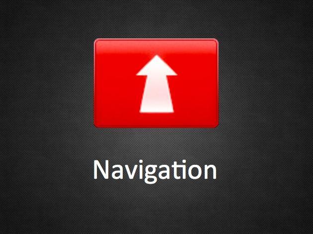 Navigálás