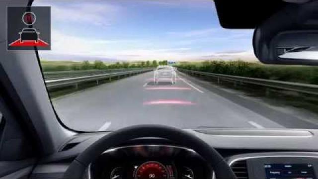 Figyelmeztetés a biztonságos követési távolságra